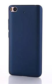 Für Ultra dünn Hülle Rückseitenabdeckung Hülle Einheitliche Farbe Hart PC für XiaomiXiaomi Mi 5 Xiaomi Mi 4 Xiaomi Mi 5s Xiaomi Mi 5s