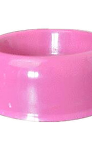 Cat Dog Feeders Pet Bowls & Feeding Portable Blue Pink Plastic