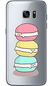 For Samsung Galaxy S6 Edge Plus S6 S7 Edge S7 Hamburger Soft Material For Compatibility TPU