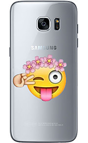 For Samsung Galaxy S6 Edge Plus S6 S7 Edge S7 Naughty expression Soft Material For Compatibility TPU