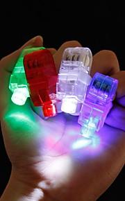손가락 반지 주도 4 개 파티 나이트 클럽 가젯 광선 레이저 광 빔