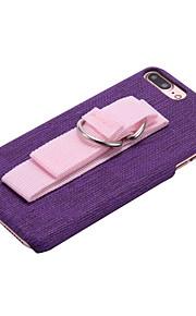 Per Con supporto Custodia Custodia posteriore Custodia Tinta unita Resistente Similpelle per AppleiPhone 7 Plus iPhone 7 iPhone 6s Plus/6