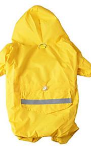 כלבים מעיל גשם Red צהוב צבע הסוואה בגדים לכלבים קיץ אחיד חמוד יום יומי\קז'ואל