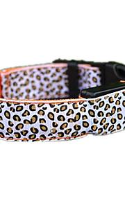 honden Kraag LED verlichting Oplaadbaar Effen Rood Groen Blauw Geel Paars Oranje Nylon