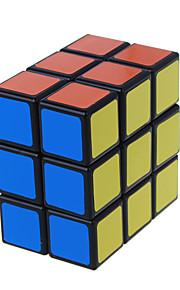 LanLan® Let Glidende Speedcube 2 * 3 * 3 Professionelt niveau Magiske terninger Sort Fade Ivory glat Sticker / Anti-pop Justerbar fjeder