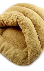 Katze Hund Betten Haustiere Decken Tragbar Khaki Stoff