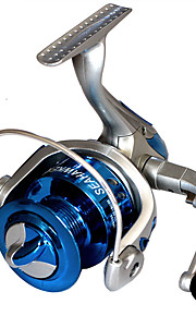 Fiskerullar Snurrande hjul 2.6:1 8.0 Kullager utbytbar Generellt fiske-LF4000