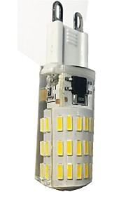 4W G9 LED-kornpærer T 46 SMD 4014 380-420 lm Varm hvit Kjølig hvit AC110-220 V 1 stk.
