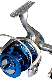 Fishing Reel Spinning Reels 2.6:1 1 Ball Bearings Exchangable General Fishing-LF2000