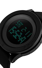 Masculino Mulheres Unissex Relógio Esportivo Relógio Elegante Relógio de Moda Relógio de Pulso Digital Silicone Banda Pendente Casual