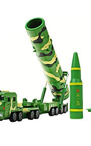 Véhicule Militaire Jouets Jouets de voiture 1:72 Métal ABS Plastique Vert Maquette & Jeu de Construction