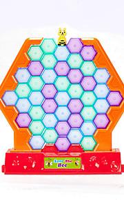 보드 게임 게임&퍼즐 노블티 사각형 펭귄 ABS 노란색 남아용 여아용