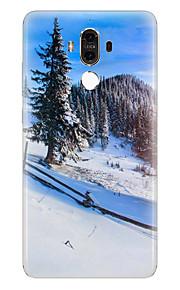 용 패턴 케이스 뒷면 커버 케이스 풍경 소프트 TPU 용 Huawei Huawei Mate 9 Huawei Mate 8