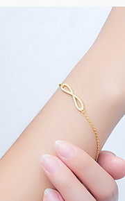 Bracelet Chain Bracelet Alloy Others Natural Gift Valentine Jewelry Gift Gold,1pc