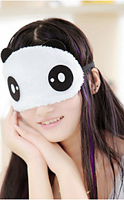 1Pcs Panda Sleeping Eye Mask Nap Eye Shade Cartoon Blindfold Sleep Eyes Cover Sleeping Travel Rest Patch Blinder Random