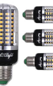 9W E26/E27 LED-kornpærer T 100 SMD 5736 900 lm Varm hvit Dekorativ AC 220-240 V 4 stk.