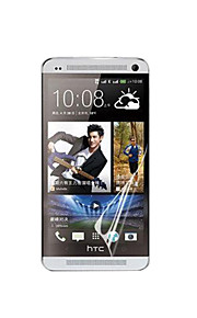 HD Screen Protector with Dust-Absorber for HTC ONE/M7 (3 PCS)