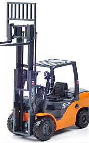 Véhicule de Construction Jouets Jouets de voiture 1:20 Métal ABS Plastique Orange Maquette & Jeu de Construction