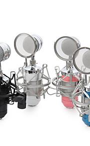 NO Com Fios Microfone de Karaoke 3.5mm Preto Azul Rosa Branco