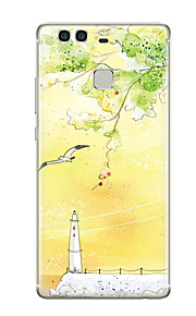 Für Muster Hülle Rückseitenabdeckung Hülle Landschaft Weich TPU für HuaweiHuawei P9 Huawei P9 Lite Huawei P9 plus Huawei P8 Huawei P8