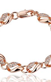 Bracelet Chain Bracelet Alloy Others Fashion Gift Valentine Jewelry Gift Gold,1pc