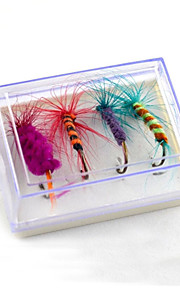 2 pcs Flies Random Colors 5 g Ounce mm inch,Plastic General Fishing