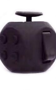 Brinquedos Cubo Macio de Velocidade Cube Fidget Novidades Alivia Estresse Cubos Mágicos Preta Plástico