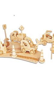 Palapelit DIY-setti Rakennuspalikat 3D palapeli Opetuslelut Palapeli Puiset palapelit Rakennuspalikoita DIY lelutKuuluisa rakennus