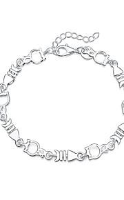 Armbånd Charm-armbånd Sølvbelagt Dyreformet Mode Smykker Gave Sølv,1 Stk.