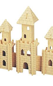 Palapelit DIY-setti näytöllä varustetun mallin Rakennuspalikat 3D palapeli Opetuslelut Palapeli Puiset palapelit RakennuspalikoitaDIY