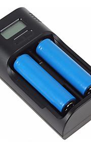 SunWalkLi-ion Battery: 18650, 266650, 18500,18350, 16340 Ni-MH Battery: AA, AAA, C LiFePO4: 26650, 18650, 16340 Charger Mode: CC / CV