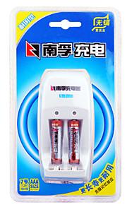 NANFU NFCK0210 AAA Nickel Metal Hydride Battery 1.2V 900mAh 1600mAh  3 Pack