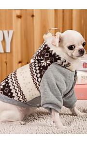 Собаки Платья серый Одежда для собак Весна/осень Английский На каждый день Спорт