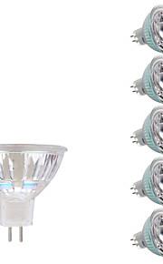 5W GU5.3(MR16) LED-spotpærer MR16 1 COB 380/400 lm Varm hvit Kjølig hvit DC 12 AC 12 V 6 stk.
