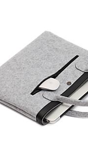 til Apple MacBook Air / pro 13,3 tommer eller mindre håndtaske ærmer laptop taske følte simple fritid stil notebook taske fast farve