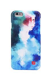 För Frostat Läderplastik Mönster fodral Skal fodral Färggradient Hårt PC för AppleiPhone 7 Plus iPhone 7 iPhone 6s Plus iPhone 6 Plus