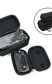 TELESIN Foldable Drone Body Carrying Case  Remote Controller Transmitter Hardshell Housing Storage Case for DJI Mavic Pro - Black