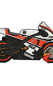 64GB disco de borracha motocicleta flash drive USB 2.0