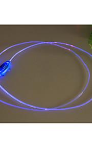 밤 실행 플래시는 빛이 형광 발광 배터리 신발 끈 창조적 인 어린이 생일 선물을 번쩍 빛나는 트렌드 주도