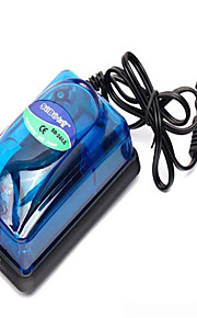 Aquarium Air Pump Energy Saving Non-toxic & Tasteless Plastic 5W220V