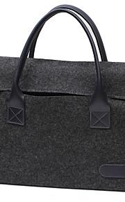 för Apple MacBook Air / Pro 13,3 pro15.4 tum eller mindre handväska ärmar laptop väska kände enkel fritid stil datorväska färg