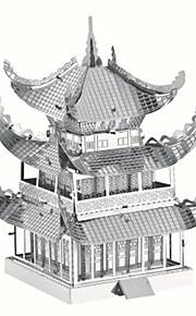 3D palapeli Metalliset palapelit Gift Rakennuspalikat Rakennuslelu Kuuluisa rakennus Kiinalainen arkkitehtuuri Arkkitehtuuri Metalli14