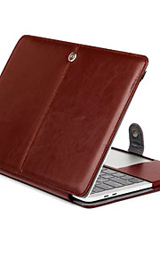 For Macbook Pro 15.4 13.3 New Pro15.4 13.3 Inch Tablet Luxury Ultra Slim Magnetic Folio Stand Crazy Horse Pattern Leather Case Cover