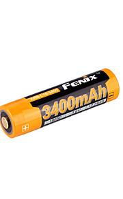 fenix 18.650 3400mAh 3.6V Li-Ion laddningsbart batteri-ARB-l18-3400