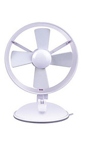 Mini Fan Sucker Base Energy-saving Fan USB Fan Fashion Second Gear Adjustment Wind Speed Mini Sucker Fan