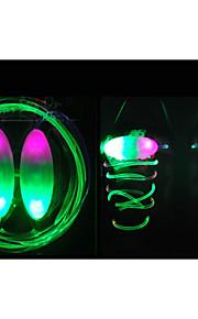 noite flash de correr luzes led tendência brilhante piscando fluorescente bateria luminosa cadarço presentes de aniversário crianças