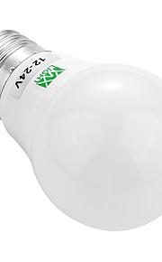 3W E26/E27 LED-bollampen 6 SMD 5730 200-300 lm Warm wit Koel wit Decoratief AC 12 V 1 stuks
