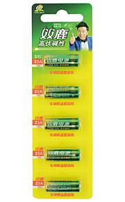 Shuanglu 23a 12V accu alkaline 5 pack