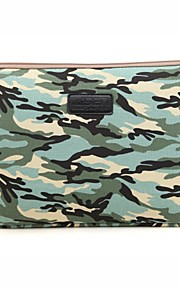 pour touch bar macbook pro 13,3 / 15,4 air macbook 11,6 / 13,3 macbook pro 13,3 / 15,4 camouflage conception de sac de douille