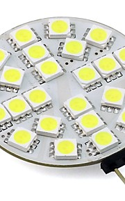 4W G4 LED-lamper med G-sokkel T 24 SMD 5050 350 lm Varm hvit Kjølig hvit V 1 stk.